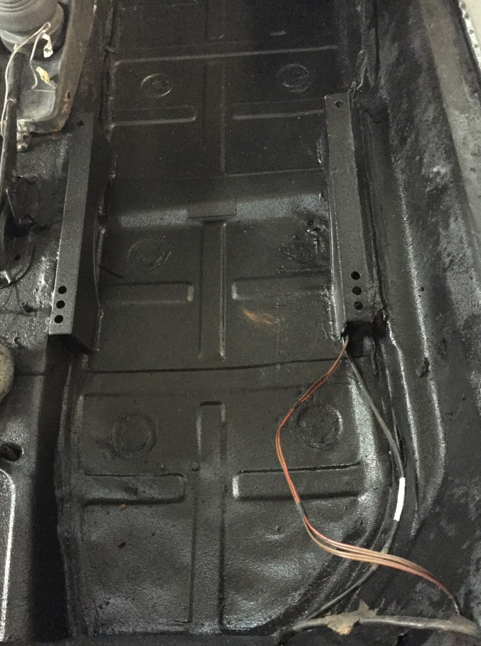 New floor panel for the '85 Targa