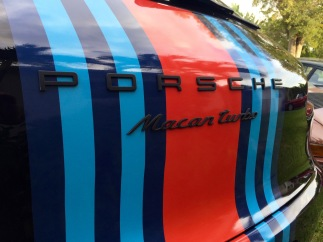 2015 Macan with Martini Racing Theme