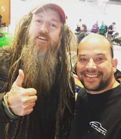 With the legend, Magnus Walker